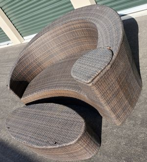 2 piece rattan/wicker outdoor patio set furniture 🔥🔥🔥 FREE DELIVERY WITHIN 5 MILES 👍 for Sale in Las Vegas, NV