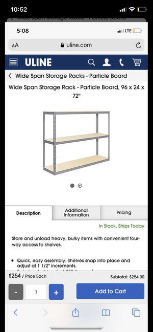 Storage racks for Sale in San Diego, CA