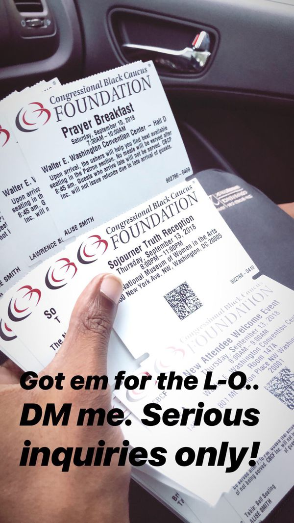 Tickets to all CBC events
