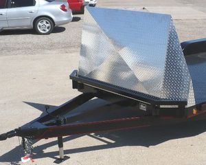 Rock or bug shield for car hauler trailer for Sale in Dallas, TX