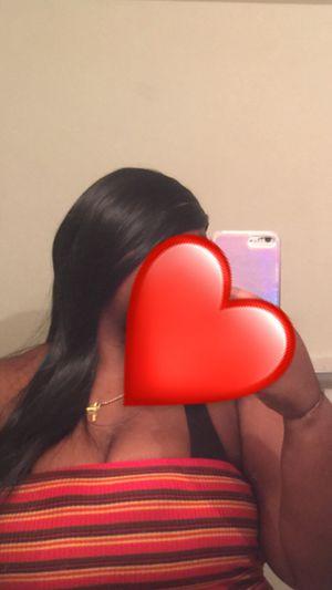 Synthetic human hair blend 20 inch straight hair wig $40 for Sale in Boynton Beach, FL