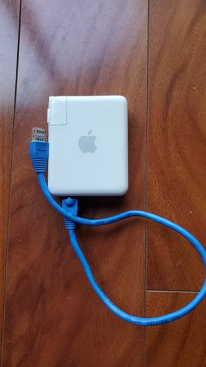 Apple Airport Express Base Station Wifi Wireless Router A1264 for Sale in Deerfield Beach, FL