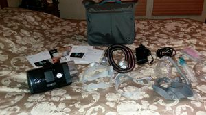 Brand new CPAP machine with all face mask an carrying case for Sale in Leesville, SC