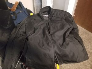 Womens XL motorcycle jacket with liner for Sale in Sandy, UT
