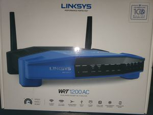 Linksys WRT1200 AC Dual Band Gigabit Wifi Router for Sale in Stockbridge, GA