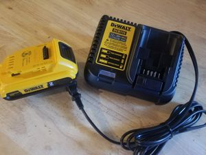 20 V DeWalt Charger and battery Brand NEW !!!! for Sale in Bakersfield, CA