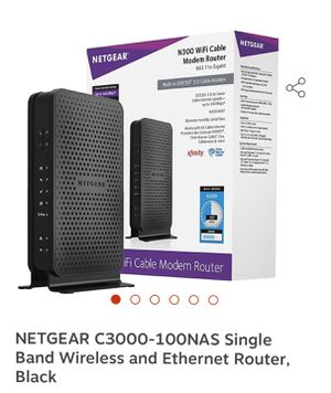 Cable/WiFi Modem- Netgear Model C3000 for Sale in Grand Prairie, TX