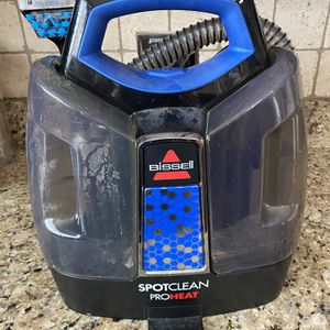 Bissell SpotClean ProHeat Portable Spot and Stain Carpet Cleaning unit in great shape! for Sale in Mason, OH