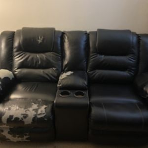Double Reclining Loveseat w/Console for sale for Sale in Washington, DC