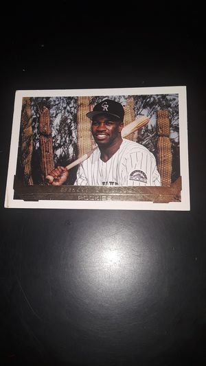 Collectible 1993 baseball card for Sale in Fresno, CA