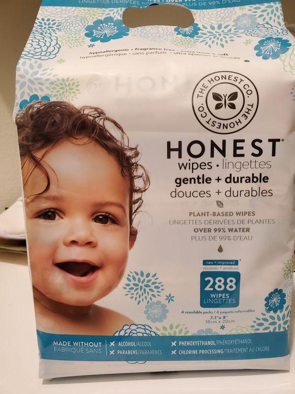 Honest Baby Wipes (1 x 288ct & 1 x 72ct)