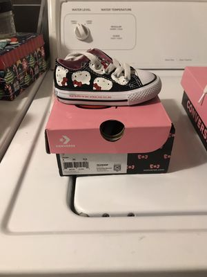 Hello kitty chucks size 4 for Sale in Capitol Heights, MD