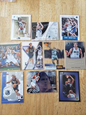 Dirk Nowitzki Dallas Mavericks NBA basketball cards for Sale in Gresham, OR