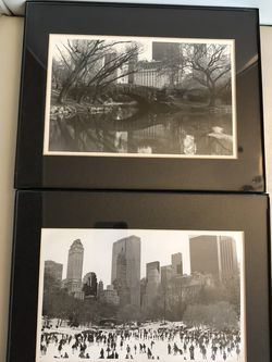 Set Of Two 8x10 Black And White Prints for Sale in Fort Lauderdale,  FL