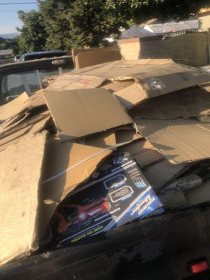 Free cardboard for Sale in West Covina, CA