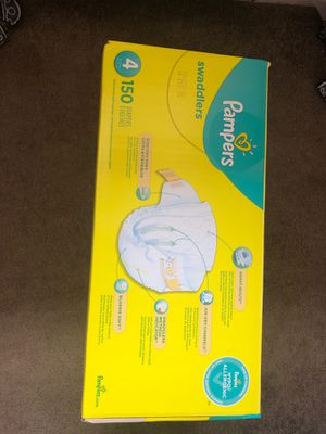 Pampers size 4 for Sale in Seattle, WA