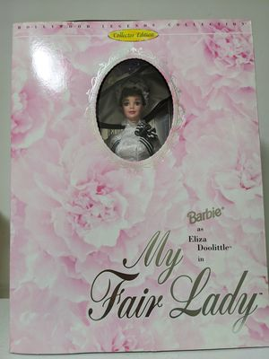 Collector's Edition Barbie as Eliza Doolittle in My Fair Lady for Sale in Glen Ellyn, IL