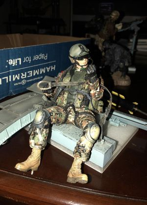 Vintage Military Figurines for Sale in Boyds, MD