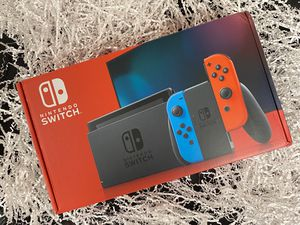 Nintendo switch V2 red/blue joy con for Sale in Dearborn, MI