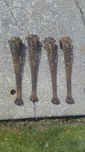 Antique metal table legs for Sale in Everett, WA
