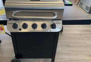 Brand New Char-Broil Stainless Steel BBQ Grill! N YF for Sale in El Paso, TX