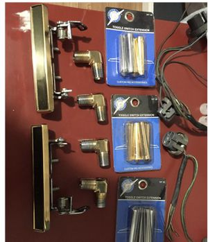 Gold plated lowrider parts for Sale in Richmond, CA