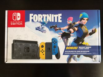 Nintendo Switch Console with Fortnite Wildcat Game Bundle for Sale in Alexandria,  VA