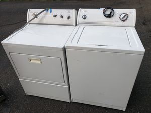 Whirlpool Washer and electric dryer 220(can deliver for free for Sale in Tacoma, WA