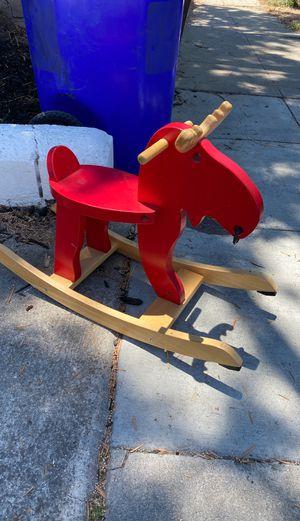 Ikea raindeer kids toy rocker for Sale in San Diego, CA
