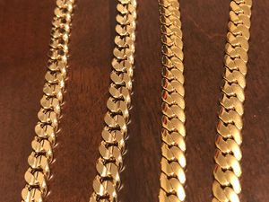 Gold plated chain 14 k new $45 for Sale in Rockville, MD