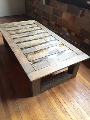 Reclaimed wood coffee table for Sale in Columbus, OH