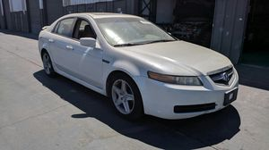 2005 Acura TL white parting out. Parts for 2004 2005 2006 2007 2008 for Sale in West Sacramento, CA