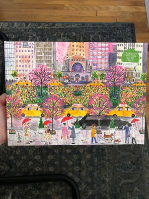 NY watercolor puzzle for Sale in Lawndale, CA