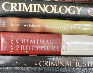 Criminal Justice Textbooks for Sale in Ontario,  CA