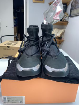 """Nike Air Fear Of God 1 """"Black"""" DS Size 8.5 Comes W/ Receipt for Sale in Clearwater, FL"""