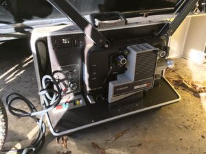 Singer graflex 16projector and screen for Sale in Chapel Hill, NC