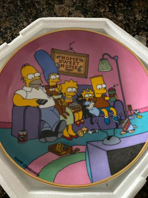 Simpson's Plate for Sale in Tamarac, FL