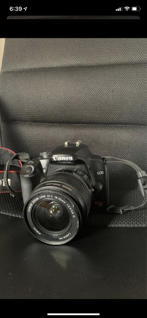 Canon EOS 18-55mm Digital Camera 2 lenses for Sale in West Hollywood, CA