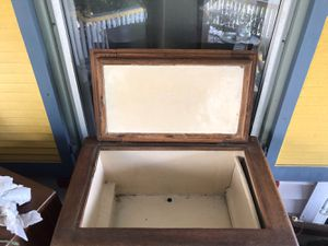 Antique Kitchen Cabinet with Ice box - $150 for Sale in Farmingdale, NJ