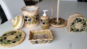 6 Piece Ceramic Kitchen Collection for Sale in Ballwin, MO