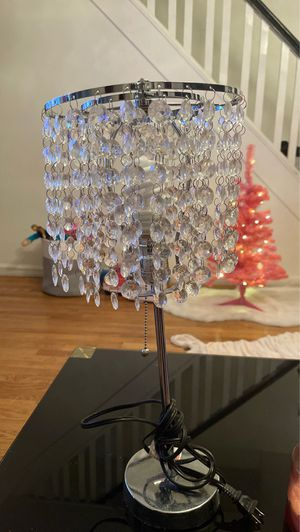 Crystal chandelier desk lamp for Sale in Queens, NY