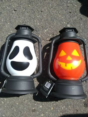New Halloween Lantern With Sound Both for $5 for Sale in El Cajon, CA