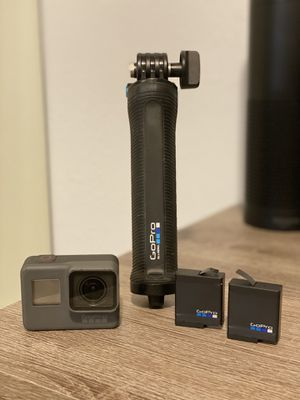 GoPro HERO 6 - Black Edition w/EXTRAS for Sale in Bothell, WA