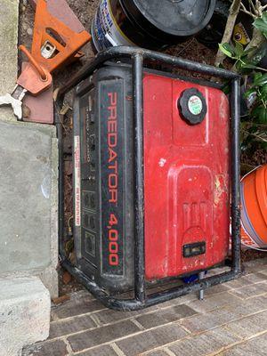 Generator Predator 4000 for Sale in Gaithersburg, MD