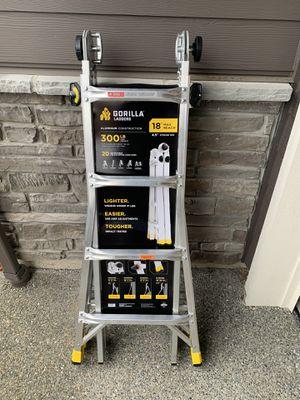 Ladder Gorilla 18' Multi Purpose New for Sale in Sumner, WA