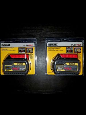 Dewalt Battery 6.0 85 each or 2 for 160 for Sale in Los Angeles, CA