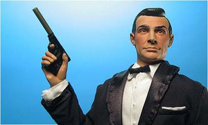 James Bond and Dr. No action figures by Sideshow. for Sale in Ford, KY