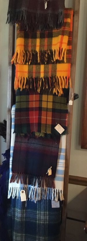 Vintage Plaid blankets, some wool for Sale in Tavares, FL