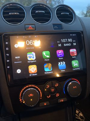 Android radio Nissan Altima double din for Sale in Silver Spring, MD