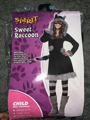 Sweet Raccoon Halloween Costume for Sale in Atlanta, GA